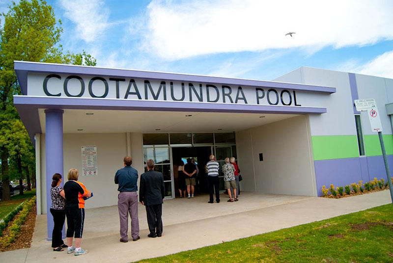 Cootamundra Aquatic Centre Momentum Built